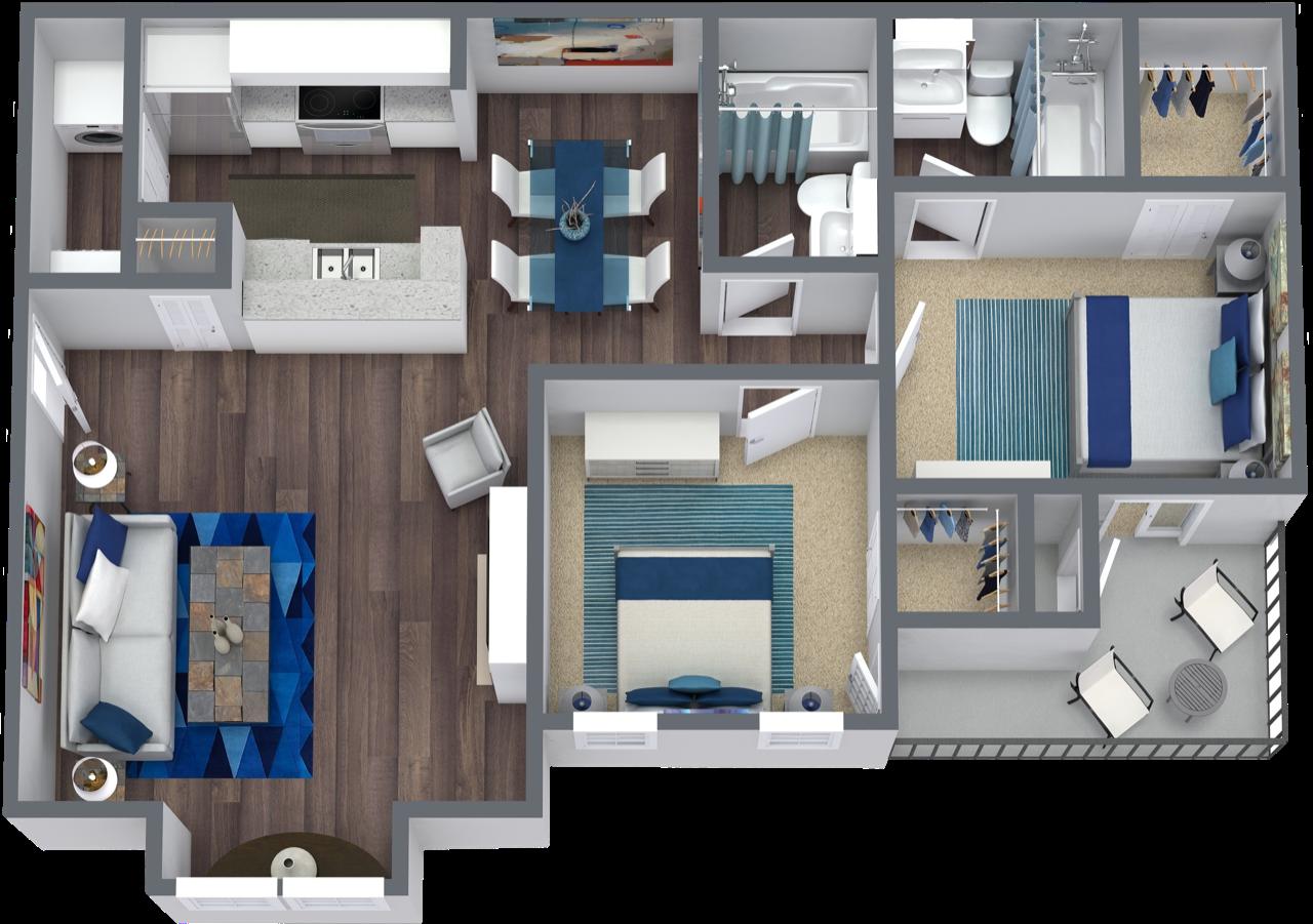 floor plan of B2
